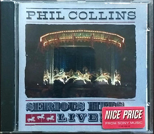 "Phil Collins ""Serious Hits "" Live+4 стр вкладка"