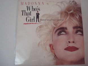MADONNA-Who, s that girls (Original Motion Picture Soundtrack) 1987 USA