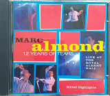 "Marc Almond ""12 Years of Tears""+12стр буклет"