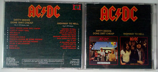 Ac/Dc - Dirty Deeds Done Dirt Cheap + Highway To Hell 1976-1979