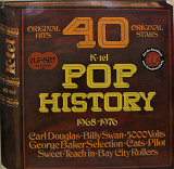Pop History 40 Original Hits (Sweet, The Cats, Smokie, Suzy Quatro and others 2LP