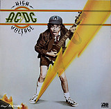 AC/DC ‎– High Voltage (T.N.T.) 1976 Atlantic Ger NM-/NM-