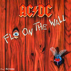 AC/DC ‎– Fly On The Wall 1985 Atlantic Ger NM-/NM- insert