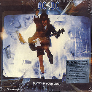AC/DC ‎– Blow Up Your Video 1988 Atlantic USA EX+(nm-)/NM-