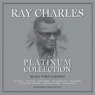 Ray Charles ‎ (The Platinum Collection) 1956-1996. (3LP). 12. Colour Vinyl. Пластинки. Europe. S/S.