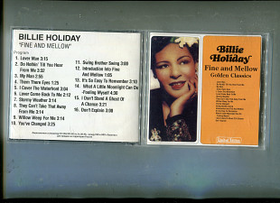 "Продаю CD Billie Holiday ""Fine and Mellow Golden Classics"" – 1998"