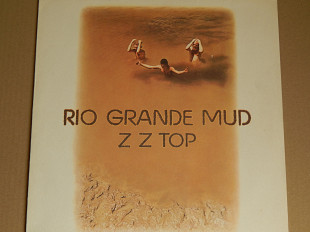 Z Z Top ‎– Rio Grande Mud (Warner Bros. Records ‎– WB 56 602, Germany) insert NM-/NM-