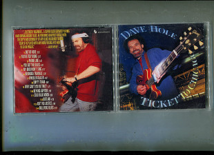 "Продаю CD Dave Hole ""Ticket to Chicago"" – 1997"