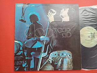 The Doors - Absolutely Live / ELEKTRA EKS 9002 , usa , 2lp