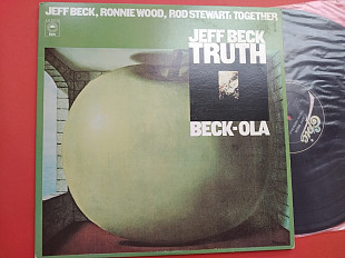 Jeff Beck - Truth & Beck-Ola 2lp / Epic EG 33779 , usa , m-/ m-
