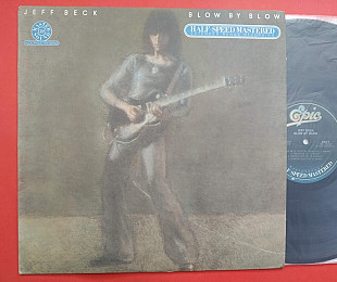 JEFF BECK - BLOW BY BLOW 1975 / 1980 Epic, HE43409, USA, Half Speed Mastered
