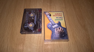 Gary Moore (Blues For Greeny) 1995. (MC). Кассета. Soyuz. Russia.