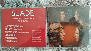 Продам CD SLADE - OLD NEW BORROWED & BLUE - 1974