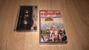 The Exploited (Troops Of Tomorrow) 1981. (AU). Кассета. Moon Records.