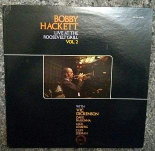 Bobby Hackett-Live at the Roosevelt Grill