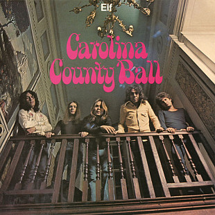 Elf / Ronnie James Dio (Carolina County Ball) 1974. (LP). 12. Colour Vinyl. Europe. S/S. Запечатанно