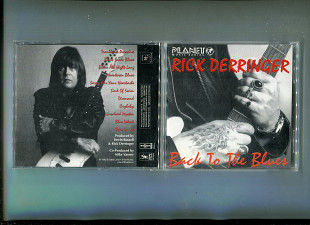 "Продаю CD Rick Derringer ""Back to the Blues"" – 1993"