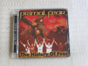 PRIMAL FEAR / the history of fear / 2009 1CD+ 1DVD