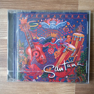 "Audio CD - Santana ""Supernatural"" / Сантана, альбом, диск, музика"
