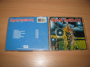 IRON MAIDEN - Iron Maiden (1980 EMI 1st press, UK) RED LOGO