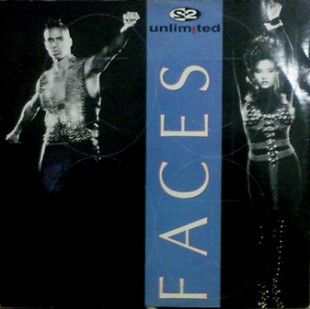"2 Unlimited - Faces (1993) (EP, 12"", 33 RPM) NM/NM"