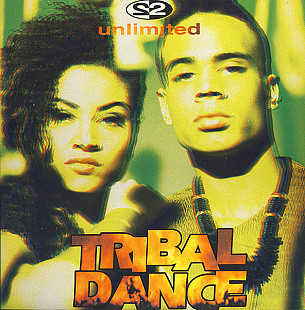 "2 Unlimited - Tribal Dance (1993) (EP, 12"", 33 RPM, 45 RPM) NM/NM"