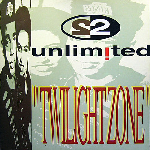 "2 Unlimited - Twilight Zone (1992) (EP, 12"", 45 RPM) NM/NM"