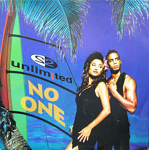 "2 Unlimited - No One (1994) (EP, 12"", 33 RPM) NM/NM"