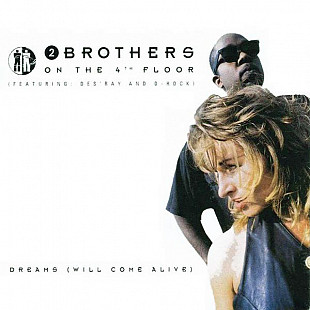"2 Brothers On The 4th Floor - Dreams (Will Come Alive) (1993) (EP, 12"", 33 RPM) NM-/NM"