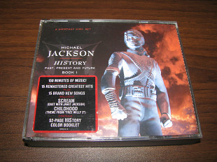 MICHAEL JACKSON - History (1995 Epic GOLD 2CD SET, 1st press, USA)
