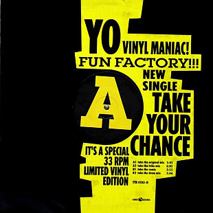 "Fun Factory - Take Your Chance (1994) (EP, 12"", 33 RPM, LE) NM-/NM-"