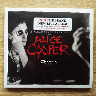 "Alice Cooper ‎""A Paranormal Evening At The Olympia Paris"" Новые фирменные 2CD"
