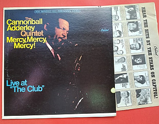CANNONBALL ADDERLY QUINTET - MERCY MERCY MERCY! LIVE AT THE CLUB , 1967 / ST 2663, usa