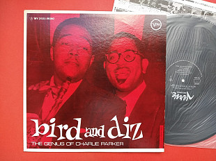 BIRD AND DIZ GENIUS OF CHARLIE PARKER / Verve MV2503 , JAPAN