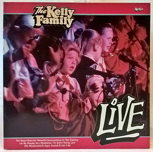 The Kelly Family (Live) 1988. (LP). 12. Vinyl. Пластинка. Germany.