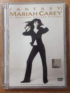 Mariah Carey ‎– Fantasy: Mariah Carey At Madison Square Garden лицензионный DVD Sony/BMG