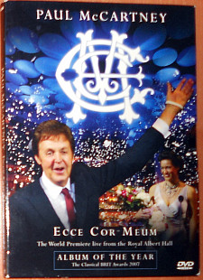 Paul McCartney ‎– Ecce Cor Meum - The World Premiere Live From The Royal Albert Hall