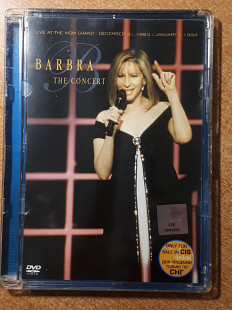 Barbra Streisand ‎– The Concert (Live At The MGM Grand - December 31, 1993 / January 1, 1994)