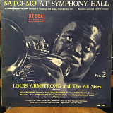 Распродажа! Винил Louis Armstrong ‎– Satchmo At At Symphony Hall Vol.2
