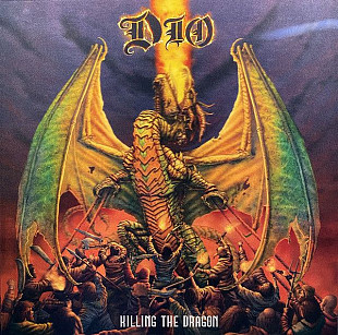 Dio (Killing The Dragon) 2002. (LP). 12. Vinyl. Пластинка. Europe. S/S. Запечатанное.