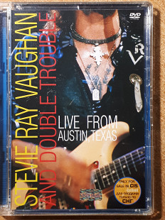 Stevie Ray Vaughan And Double Trouble Live From Austin, Texas лицензионный DVD Sony
