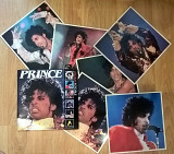 Prince (Anabas Fotofile) 1985. (Vinyl Store 6 Big Colour Photo). England. Оригинал. Rare.