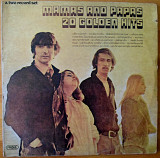 The Mamas & The Papas ‎– 20 Golden Hits