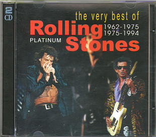 The very best of Rolling Stones 1962-1994 Platinum (2cd)