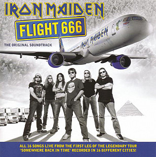 Iron Maiden ‎– Flight 666 - The Original Soundtrack 2009
