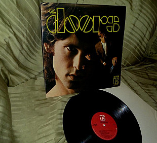 The Doors I 1967 red Elektra EKS-74007 NM / NM