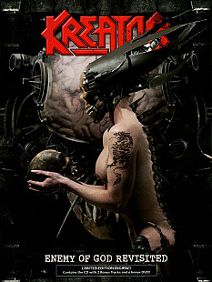 Kreator ‎– Enemy Of God Revisited 2006 CD+DVD