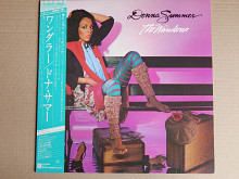 Donna Summer ‎– The Wanderer (Geffen Records ‎– P-10945W, Japan) NM/NM-