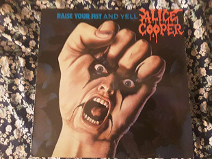 "Alice Cooper ""raise your fist and yell """