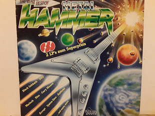 Helloween, Accept, Black Sabbath, Dio, Kiss 2lp The Very Best Of Metal Hammer
